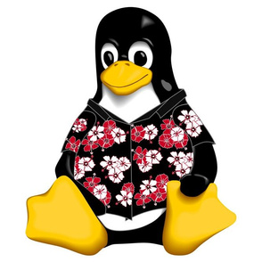 CasualTux Hawaiian