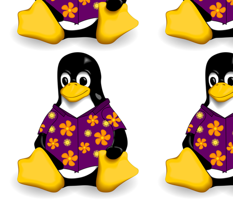 CasualTux Purple fabric by casualtux on Spoonflower - custom fabric