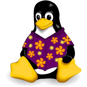 CasualTux Purple