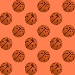 Basketball Balls on Coral