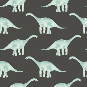 Brontosaurus grey