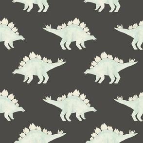 Stegosaurus grey