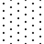 black dots fabric // mini dots design black and white  design andrea lauren fabric