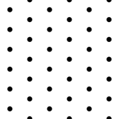 black dots fabric // mini dots design black and white  design andrea lauren fabric