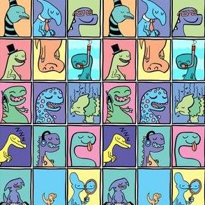 Cute Dinosaur Childrens Illustrations Set 2