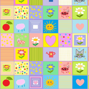 Baby Quilt Large