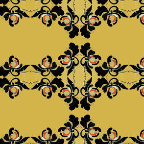 Baroque style Scandinavian