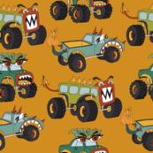 Monster Trucks Yellow