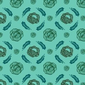 Brassica Argylle Green