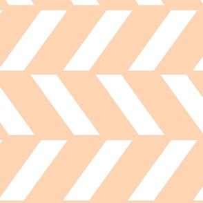 Peach Chevron 90
