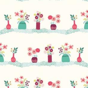 fresh flowers - cream