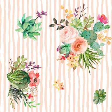Rshe_is_fierce_peach_stripes_floral_90_degrees_shop_preview