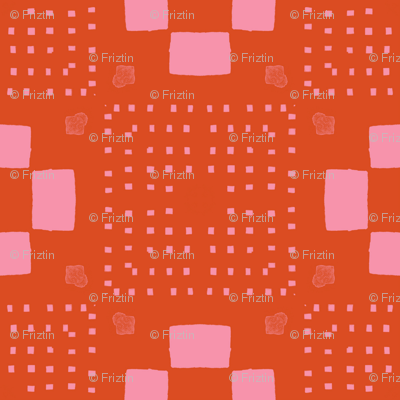Phlox Garden- MM+M Red by Friztin