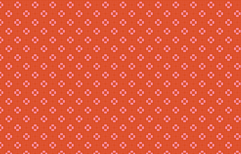 Phlox Garden- MM+M Red by Friztin fabric by friztin on Spoonflower - custom fabric