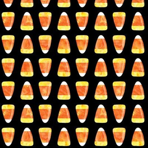 candy corn - black