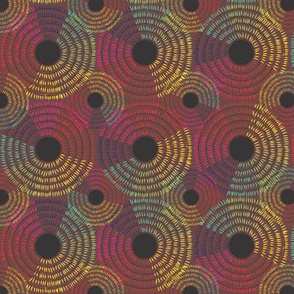 Africa Color Weave warm