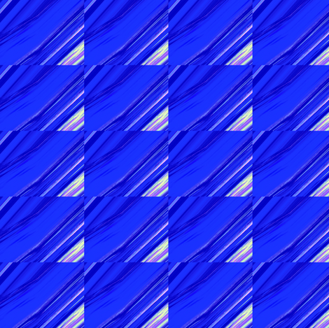 Diagonal Blue Grid Upholstery Fabric fabric by llukks on Spoonflower - custom fabric