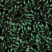 Rfloral_elephant_green_leaves_black_shop_thumb