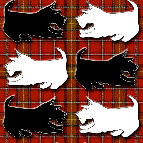 Rrblack_and_wheaten_playful_scottish_terriers_on_red_plaid_shop_preview