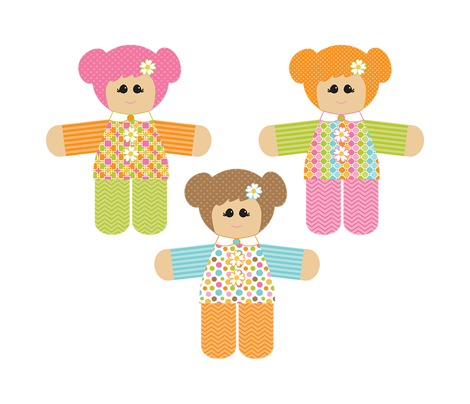 Plushie - Daisy Dolls