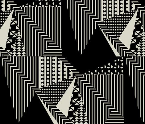 Graphic frenzie fabric by arrpdesign on Spoonflower - custom fabric