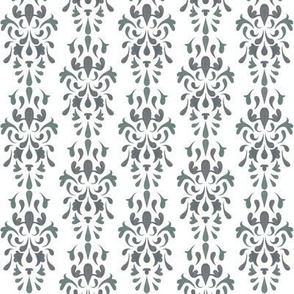 Small Pencil Damask 2