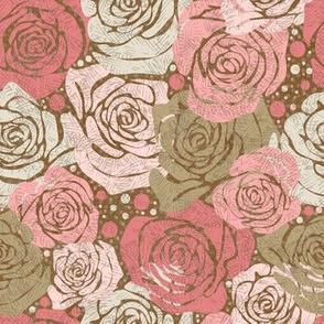 Rose Dot - Pink