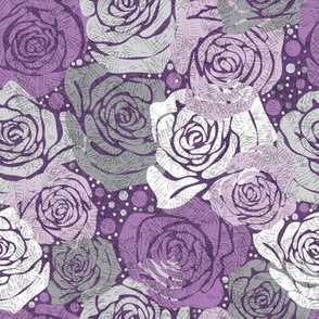 Rose Dot - Purple