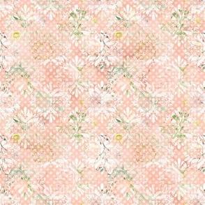 Floral Damask - Peach