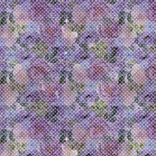 Floral Dot - Purple