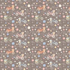 Pedals and Petals - Small Print