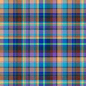 jaunty blue plaid