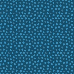 Whimsical Dot Blue