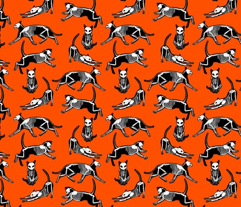 Haunted_cat_skeletons_orange_and_black_shop_preview