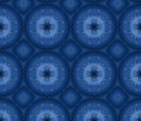 Indigo Moiré 1 fabric by enid_a on Spoonflower - custom fabric