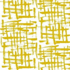 cross hatch mustard