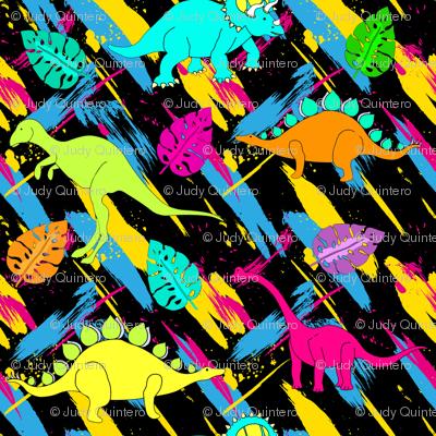 "4"" Rock on Dino - Vintage 80s"