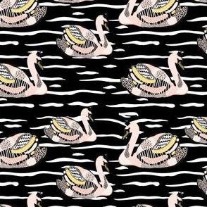 """4"""" Swan Lake - Black"""