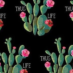 "4"" Thug Life - Black"