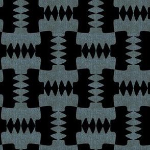Werewolf Tooth Black and Blue Linenlook
