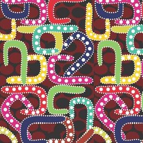 African Pattern warm