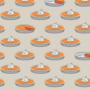 pumpkin pie - beige