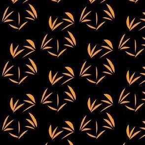 Paw Paw Oriental Tussocks on Black