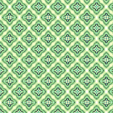 Reversal-green  fabric by franbail on Spoonflower - custom fabric