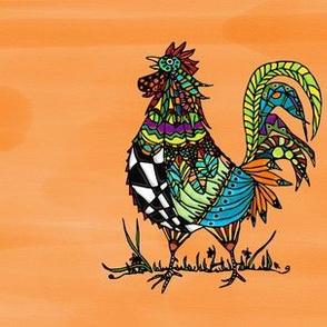 Folk Art Rooster II
