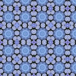 Blue Hydrangea Mandalas 1466