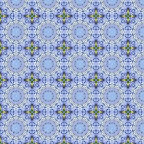 Pastel Hydrangea Circles 1497