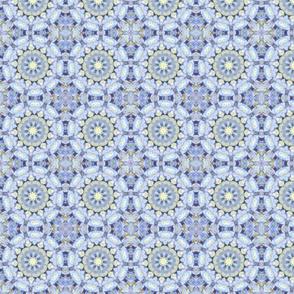 Pale Blue Hydrangea Mandalas 1464