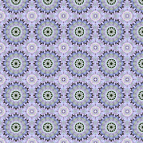 Pastel Multicolored Mandala 1496