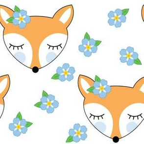 foxes-and-forget-me-nots